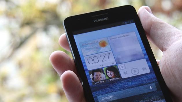 Huawei Ascend G525 im Test: Dual-SIM und 4,5 Zoll für 160 Euro