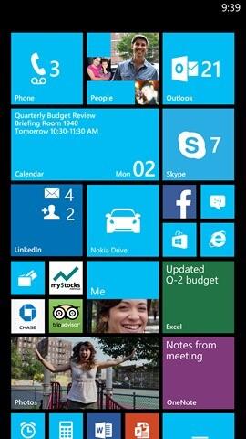 """Neuer Startbildschirm unter Windows Phone 8 """"GDR3"""""""