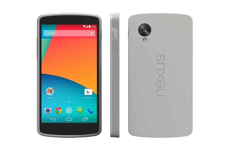 Google Nexus 5 - Bumper Case - Grau