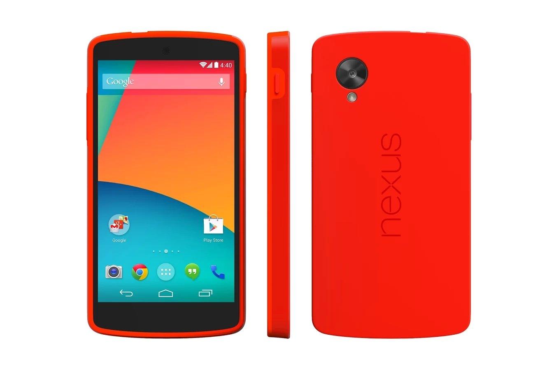 Google Nexus 5 - Bumper Case - Rot