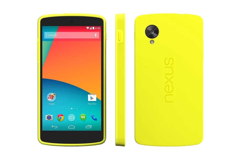 Google Nexus 5 - Bumper Case - Gelb
