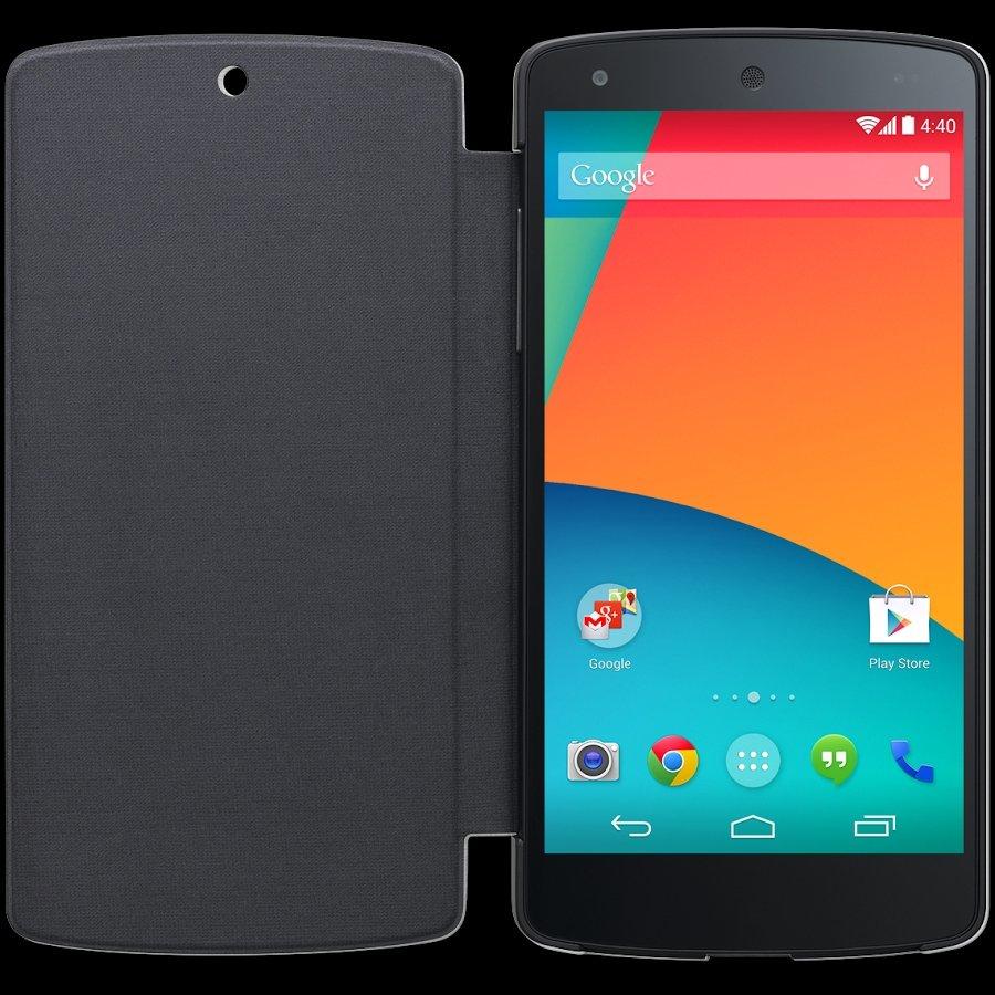 Google Nexus 5 - LG QuickCover - Schwarz