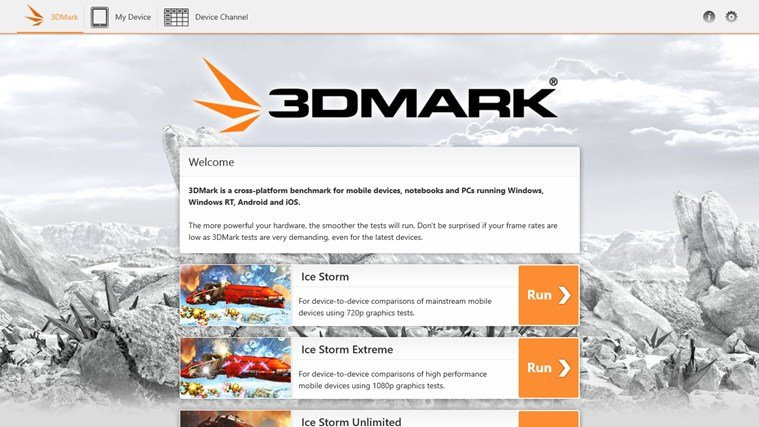 3DMark für Windows RT
