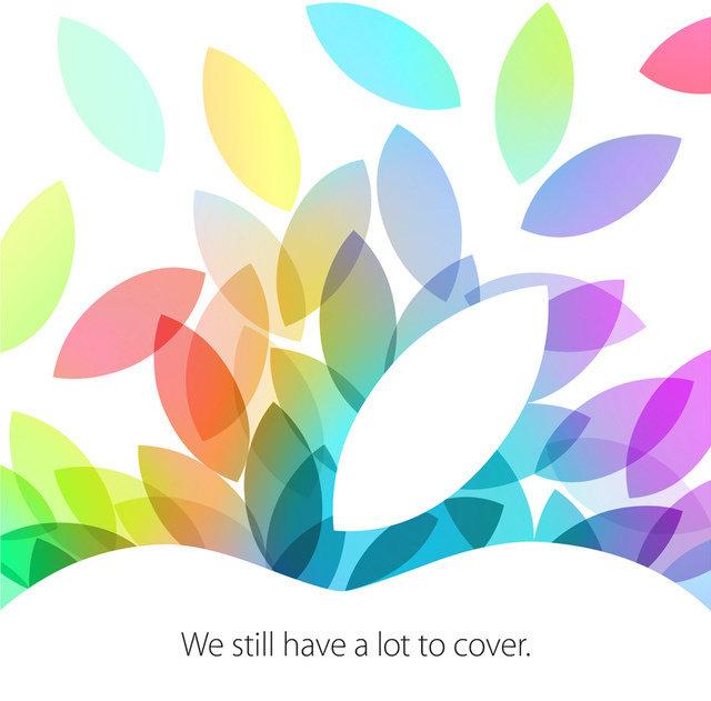 Apples Einladung für den 22. Oktober