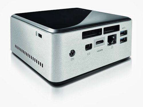 NUC mit 49 mm Bauhöhe für Option auf Notebook-HDDs