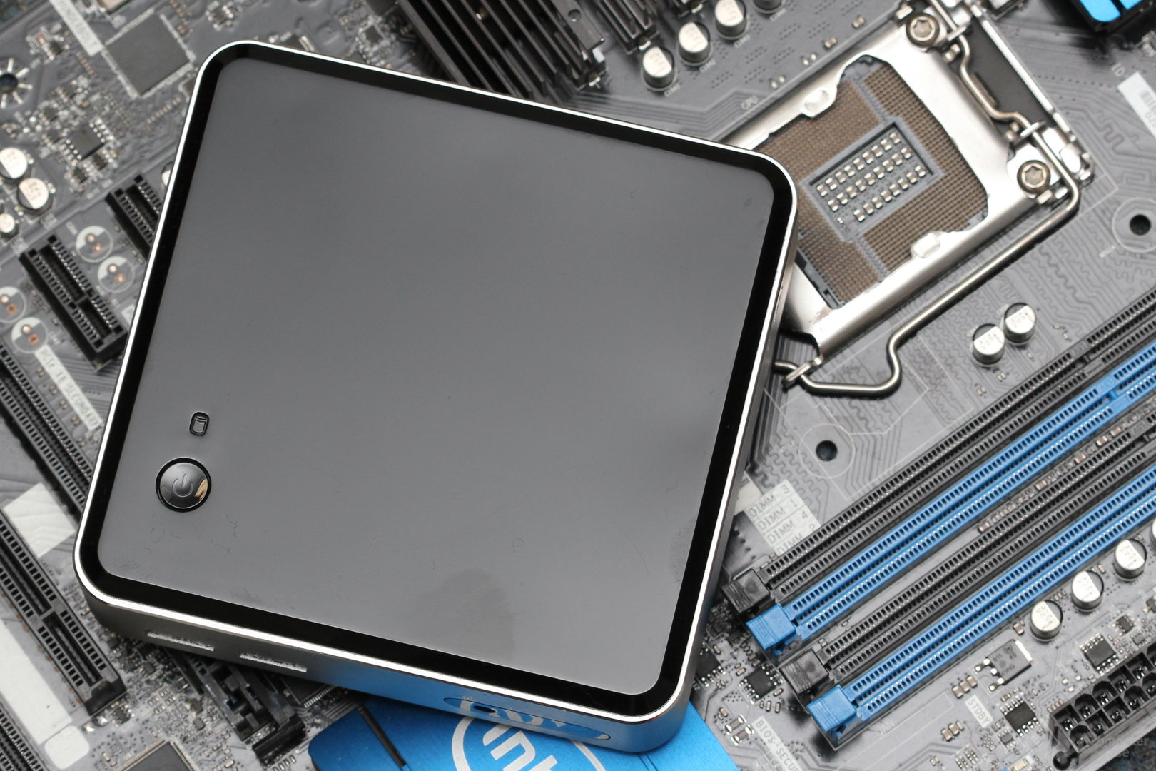 Intels Haswell-NUC auf normalem Haswell-ATX-Mainboard