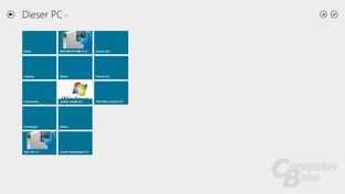 SkyDrive mit neuem Dateibrowser