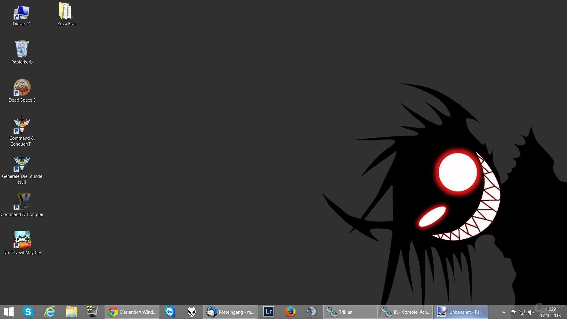 Desktop mit Startbutton