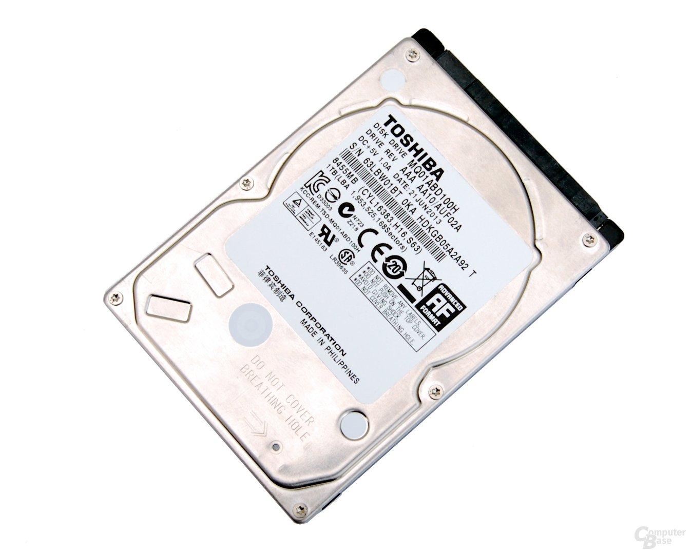 Toshiba SSHD MQ01ABD100H