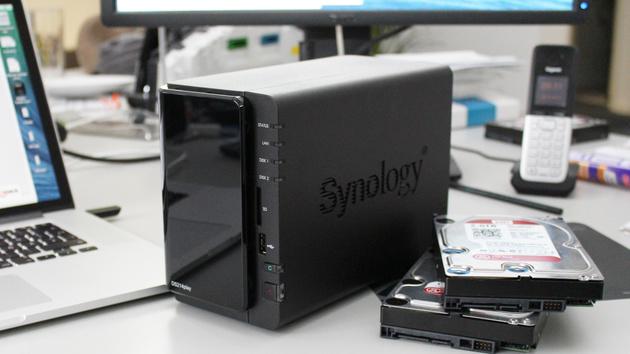 Synology DiskStation DS214play im Test: Multimedia-NAS. Mit Einschränkung.
