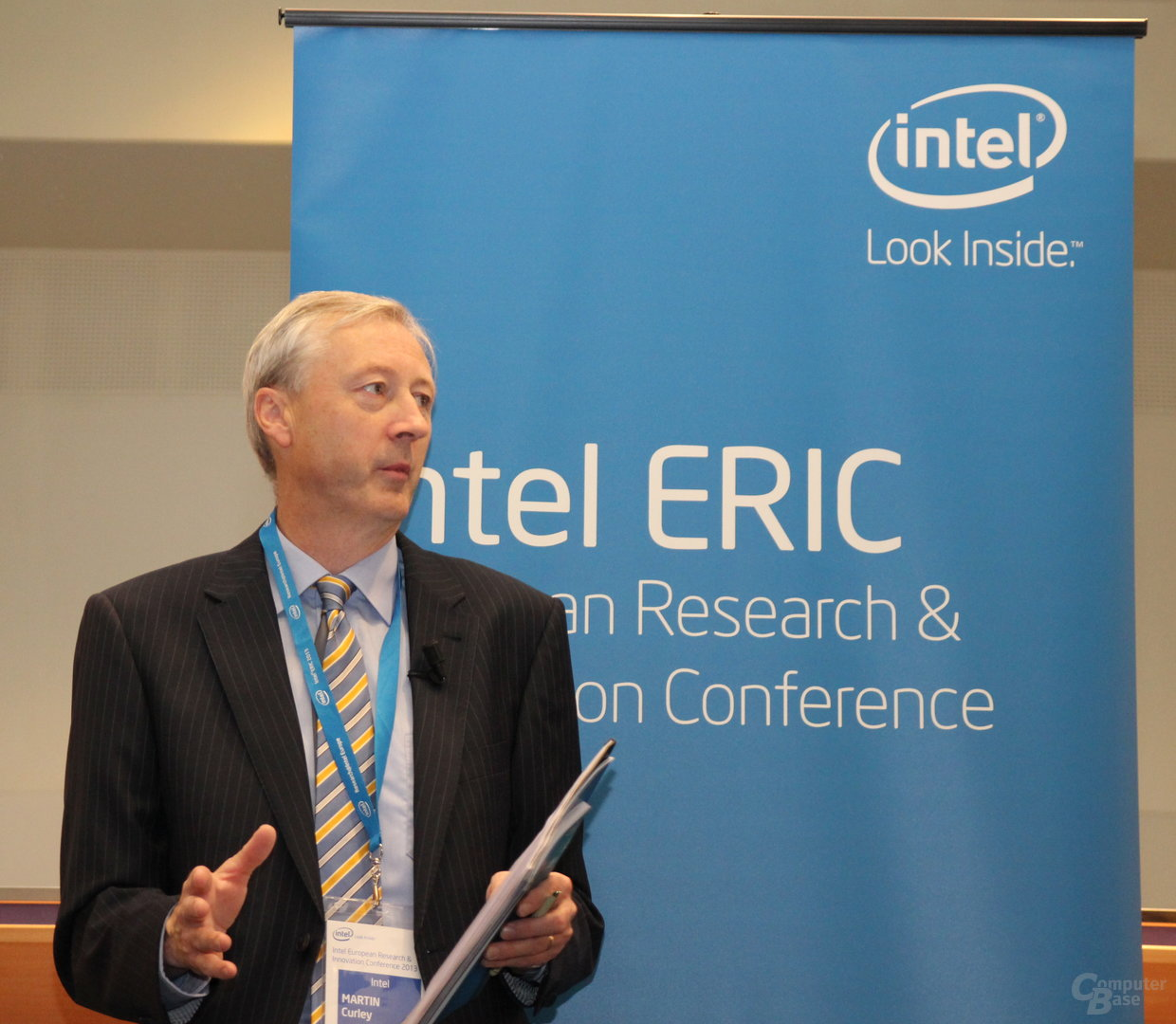 Prof. Martin Curley, Chef der Intel Labs Europe