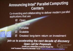 Neue Intel-Initiative für Parallelisierung