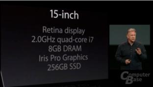 Apple MacBook Pro 15-Zoll