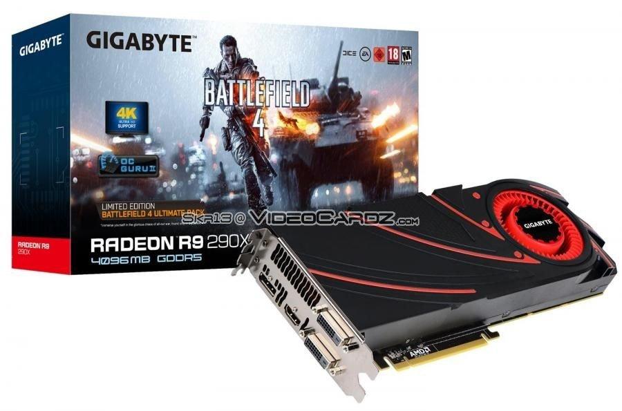 Gigabyte Radeon R9 290X Battlefield 4 Edition