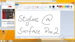 Surface Pro 2 mit Stylus
