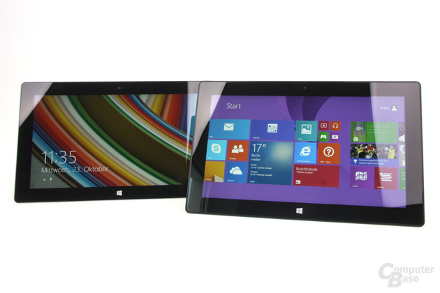 "Surface 2 / Surface Pro 2 – 10,6"" Full HD"