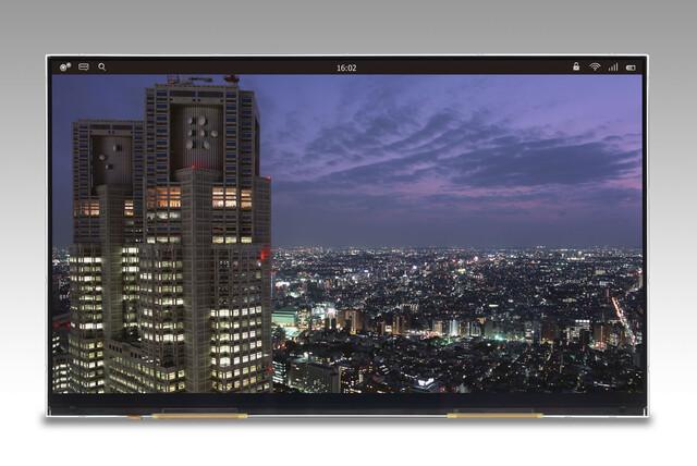 "Japan Display 12,1"" Ultra-HD-Display"