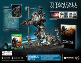 """Umfang der Collector's Edition von """"Titanfall"""""""