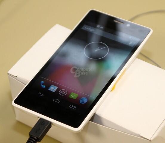 Smartphone im Merrifield-Referenz-Design