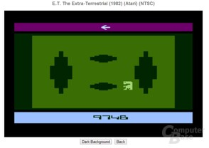 ET: The Extra-Terrestrial im Browser