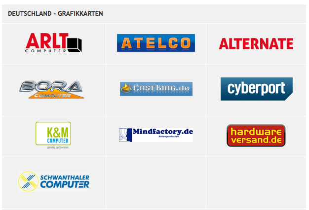 Handelspartner mit Nvidia-Bundle