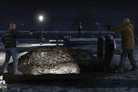 "Angebliche Screenshots aus ""North Yankton"""