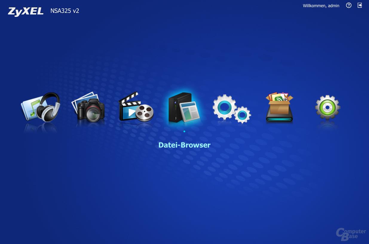 ZyXEL NSA325 v2 – Beta der PlayZone