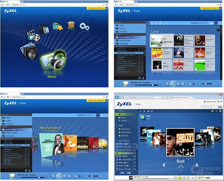 ZyXEL NSA325 v2 – finale PlayZone