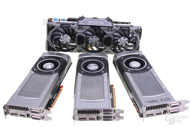 Schlagabtausch: GTX 780 Ti gegen GTX Titan und zwei GTX 780