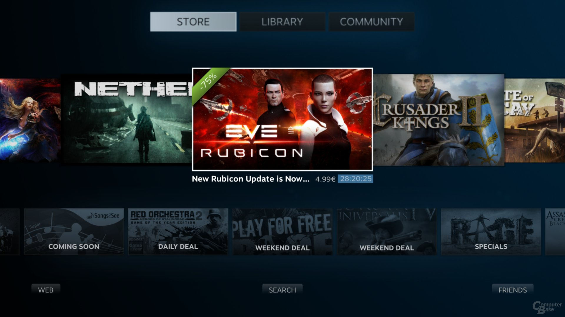 Spiele im Steam-Shop