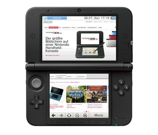 Nintendos 3DS-Handheld verfügt über zwei Displays