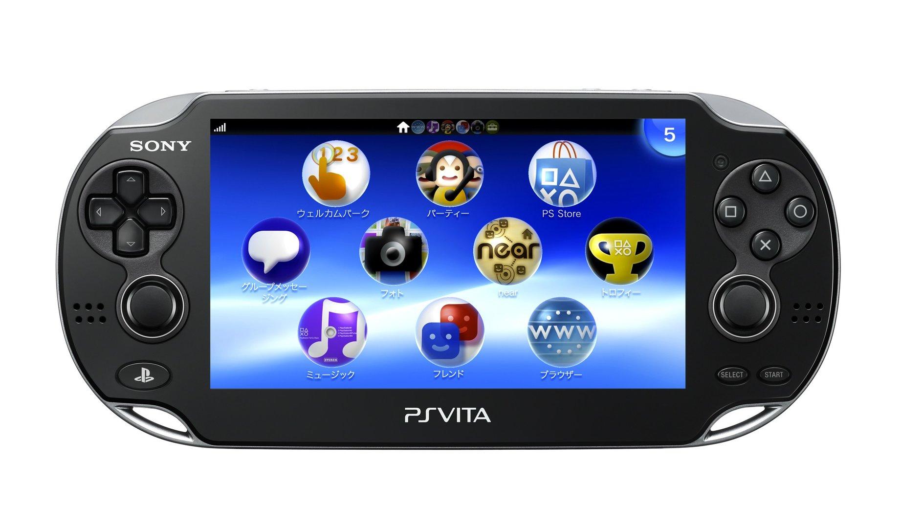 Touchscreen und Knöpfe bei der PS Vita