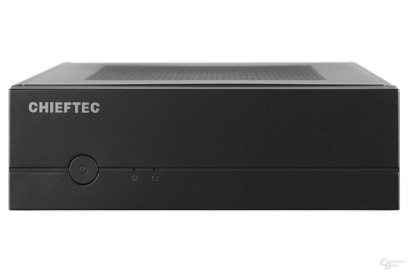 Chieftec IX-01B - Frontansicht