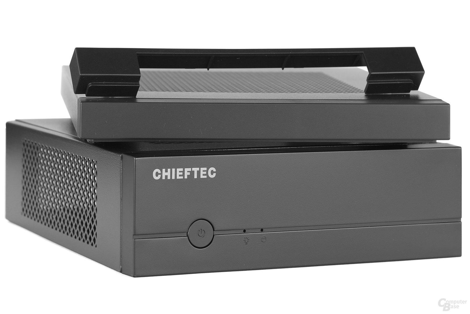 """Chieftec IX-01B - Optionale Expansion MK-35DV für 5,25""""-Slimline-Laufwerk"""