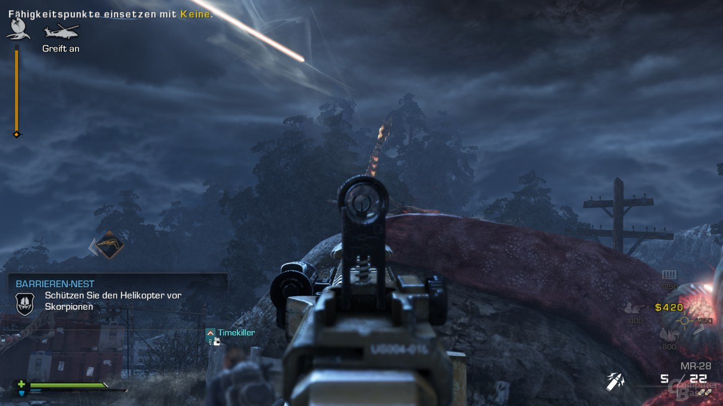 Call of Duty: Ghosts im Test (Multiplayer)