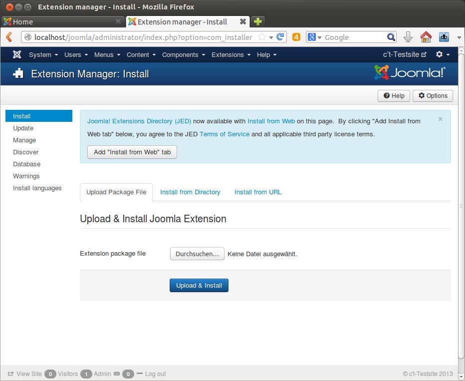 Joomla-Extensions-Finder