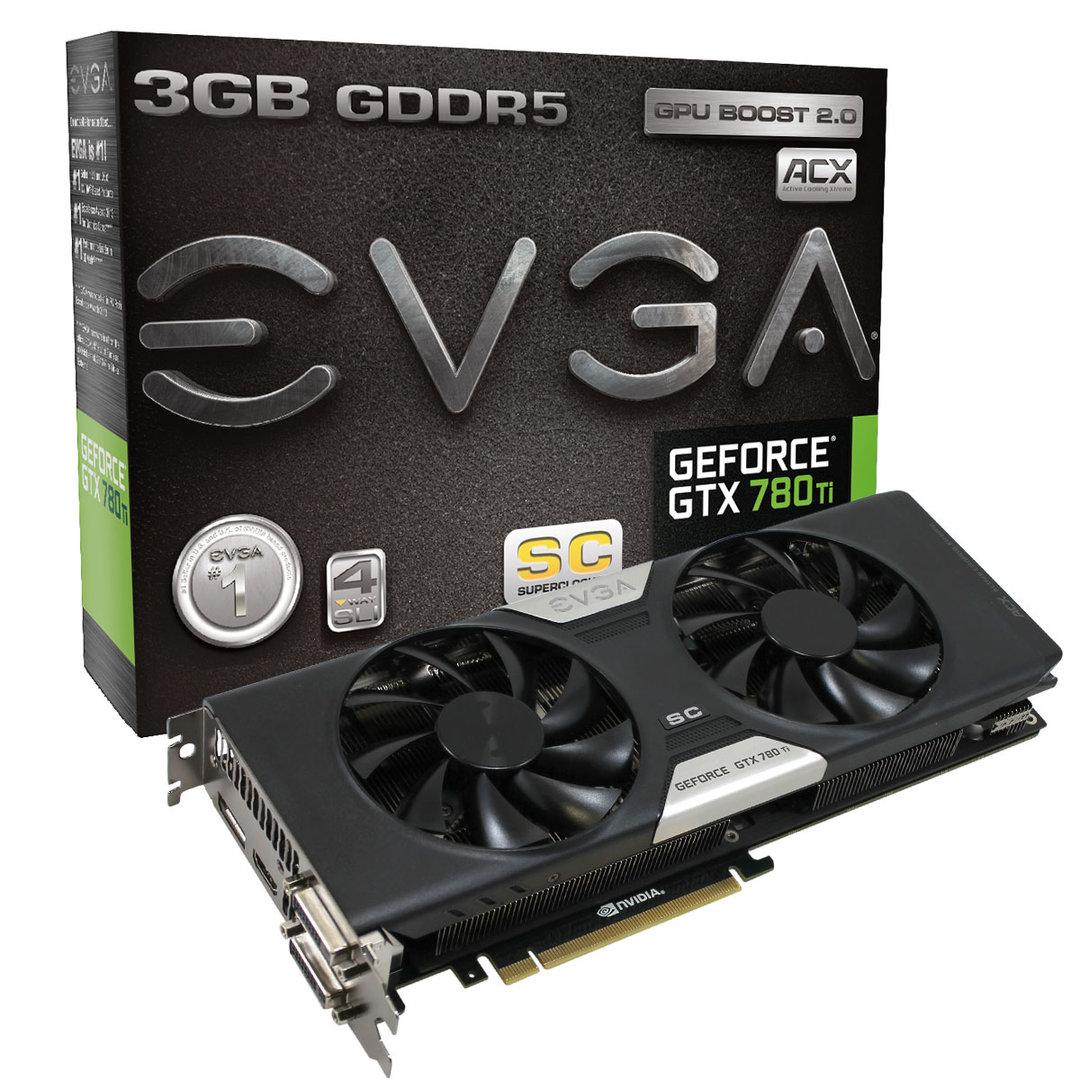 EVGA GeForce GTX 780 Ti SC ACX