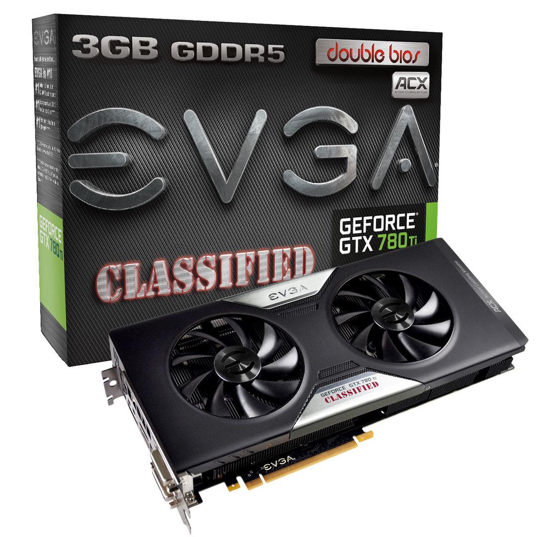 EVGA GeForce GTX 780 Ti Dual Classified ACX