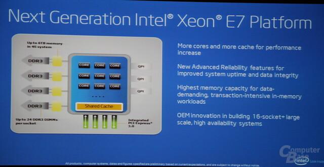 Xeon E7 mit diversen Neuerungen