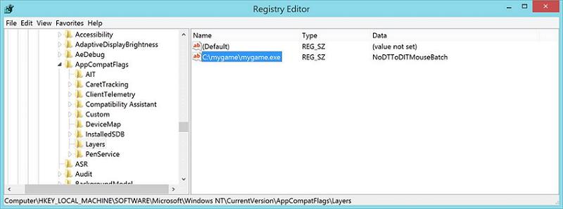 Registry-Eintrag hilft gegen Maus-Lag