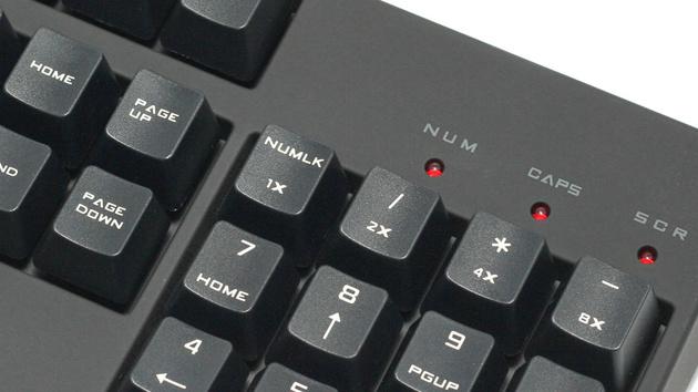 CM Storm Quickfire XT: Dezente Durchschnittstastatur