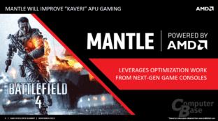 """AMDs """"Mantle"""" auch für """"Kaveri"""""""