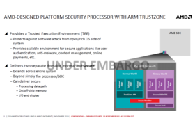 ARMs Trustzone in AMDs Security Processor