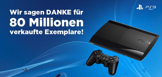 80 Millionen PlayStation 3 verkauft