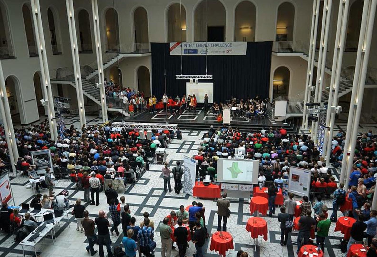 Abschlussveranstaltung der Challenge 2012