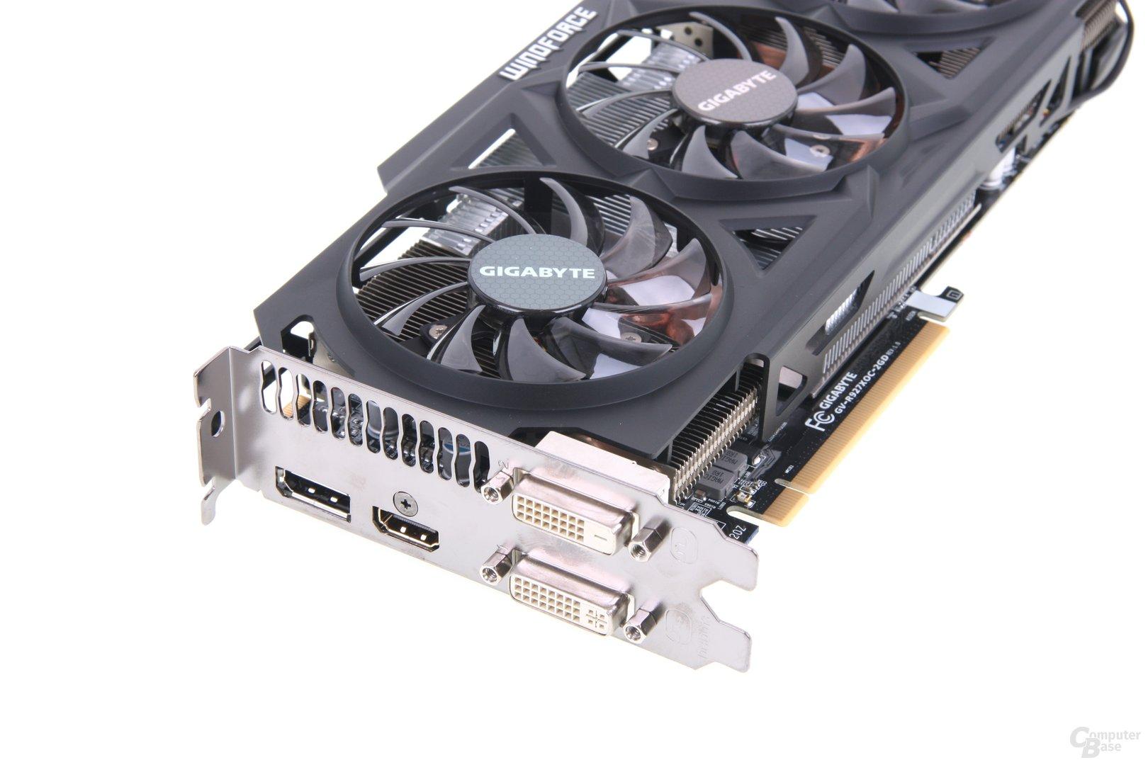 Gigabyte Radeon R9 270X WindForce 3X OC,