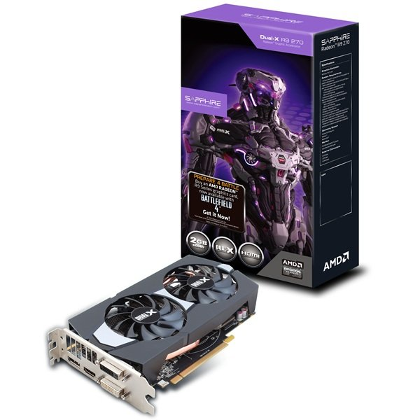 Sapphire Radeon R9 270 Dual-X BF4 Edition