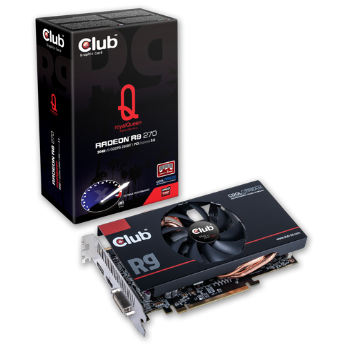 Club 3D Radeon R9 270 royalQueen