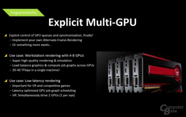 AMD Mantle bei Multi-GPU