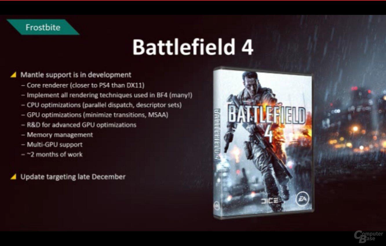 AMD Mantle in Battlefield 4